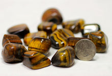 Load image into Gallery viewer, Tigers Eye Tumble