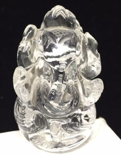 Quartz Ganesh - Lord Ganesh Carving