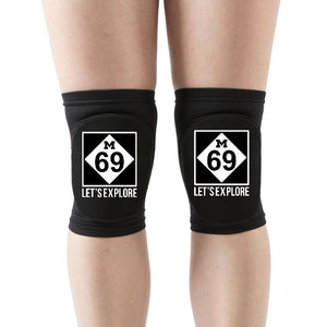"M-69 ""Let'SeXplore"" Knee Pads"