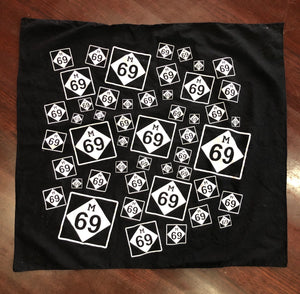 "M-69 ""Love Triangle"" Bandana"