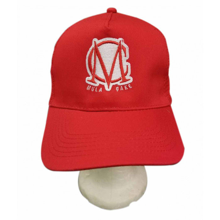 Trucker Mesh Red and White Snapback Cap