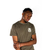 Image of Olive Green Bold T-Shirt