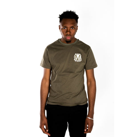 Olive Green Bold T-Shirt
