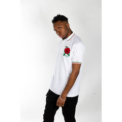 Rose Polo White