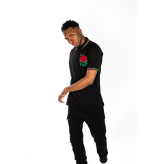 Rose Polo Black