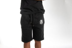Kids Summer Black Shorts