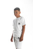 Image of Kids Summer White Shorts