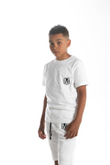 Kids Summer White Shorts