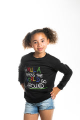 Mula World  Light Weight Black Sweatshirts