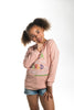 Image of Mula World  Light Weight Pink Sweatshirts