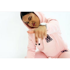 Non Ripped Pink Tracksuit