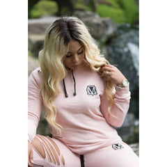 Ripped Pink Tracksuit