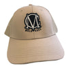 Image of Trucker Mesh Beige and Black Snapback Cap