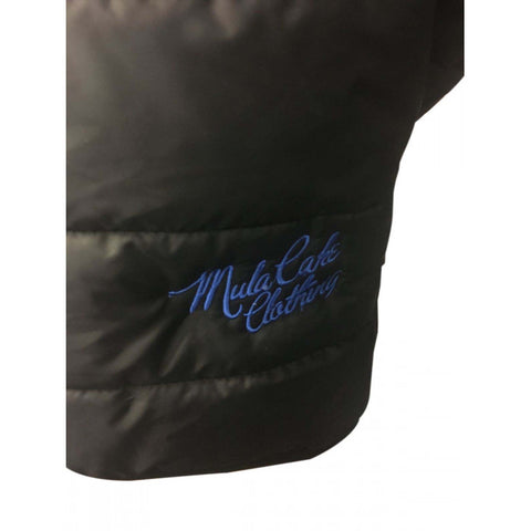 Black and Blue Kids Reversible Padded Jacket