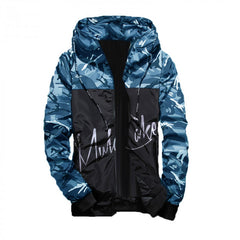 Light Weight Blue Camo Jacket