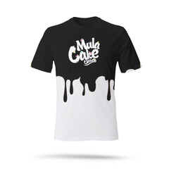 Classic Logo Black Dripping Kids T-Shirt