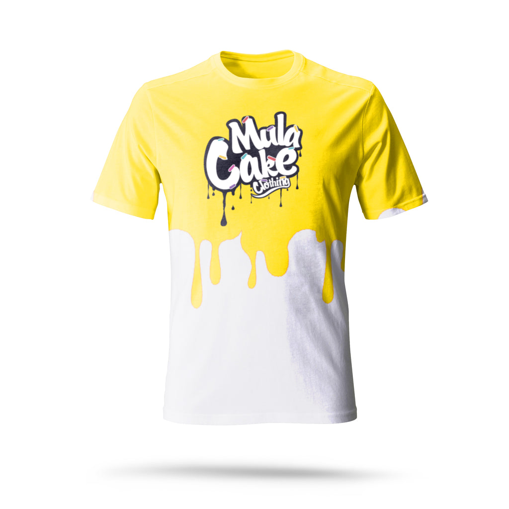Classic Logo Yellow Dripping Kids T-Shirt