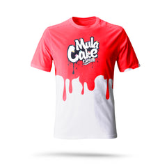 Classic Logo Red Dripping Kids T-Shirt