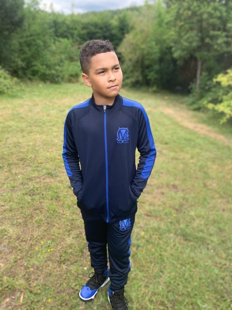 Mc Training Tracksuit Kids Navy