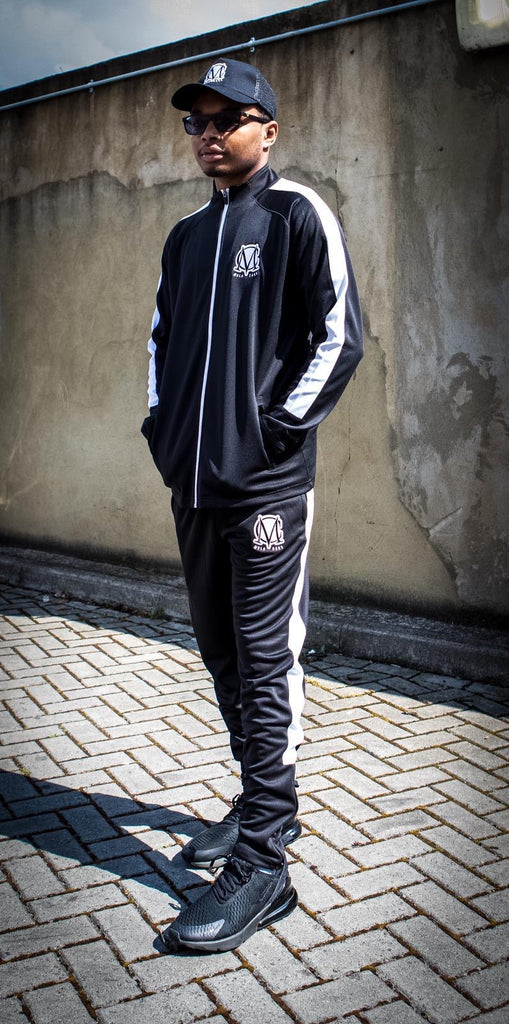 MC Training Tracksuit Black/White