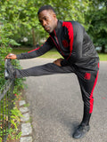 MC Training Tracksuit Black/Red