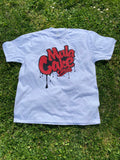 Classic T-shirt white/red