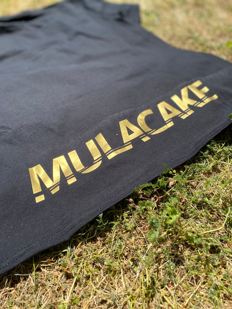 MC T-Shirt Black/Gold