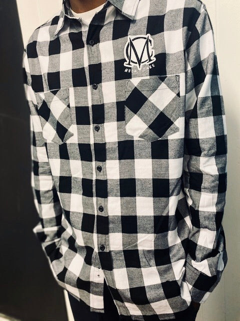 Dee Bo Checked Shirt Grey