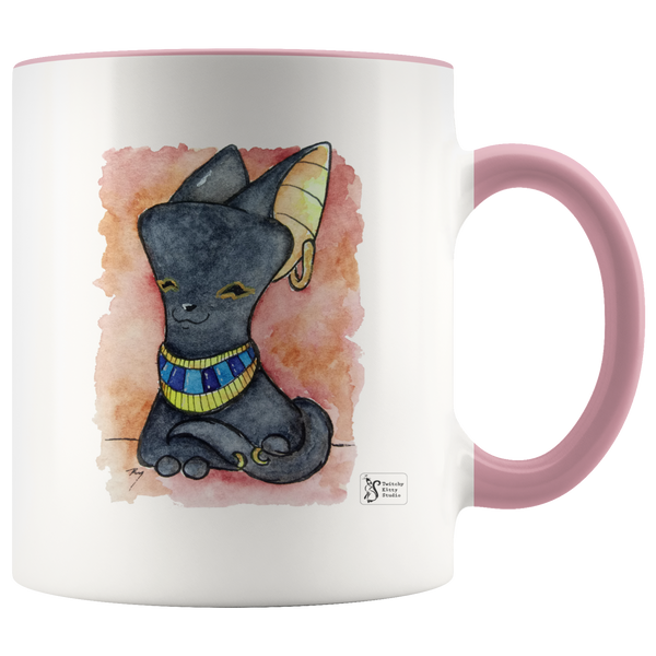 Watercolor Bast 11oz Mug