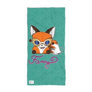 Fancy Yip Beach Towel