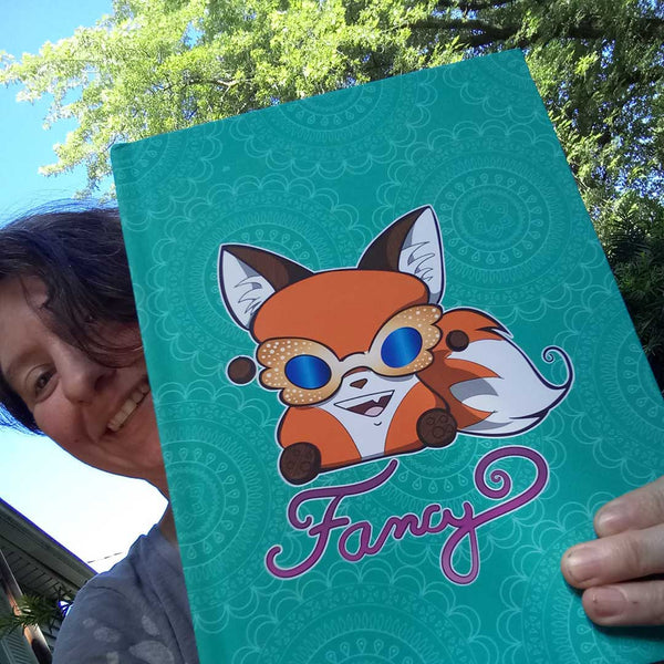 Fancy Yip Hardcover Journal