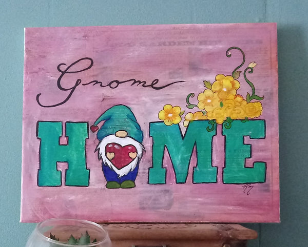 February Gnome Home Paint n' Sip