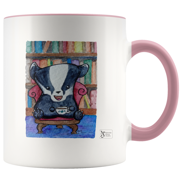 Library Badger 11oz Mug