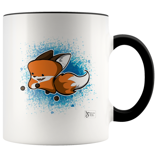 Leaping Yip Ceramic Mug