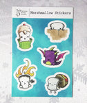 Marshmallow Vinyl Sticker Sheet