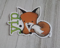 Limited Edition Yip Vinyl Sticker