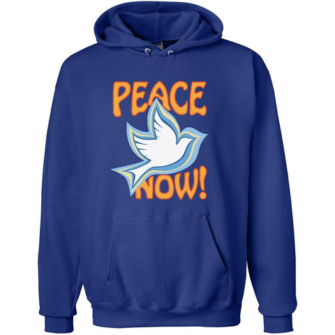 Peace Now, Unisex Long Sleeve No-Zip Hoodie