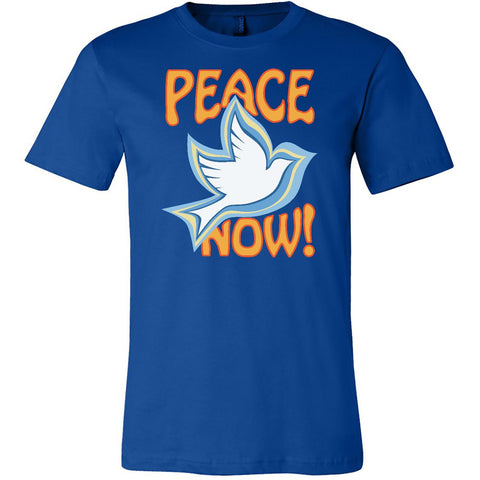 Peace Now, Men's Short Sleeve Crew TShirt