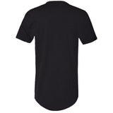 Spring Peace, Men's Fitted Long Body Short Sleeve Crew Neck TShirt