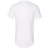 Summer Peace, Men's Fitted Long Body Short Sleeve Crew Neck TShirt