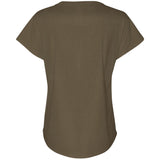 Autumn Peace, Women's Short Sleeve Dolman Scoop Neck TShirt