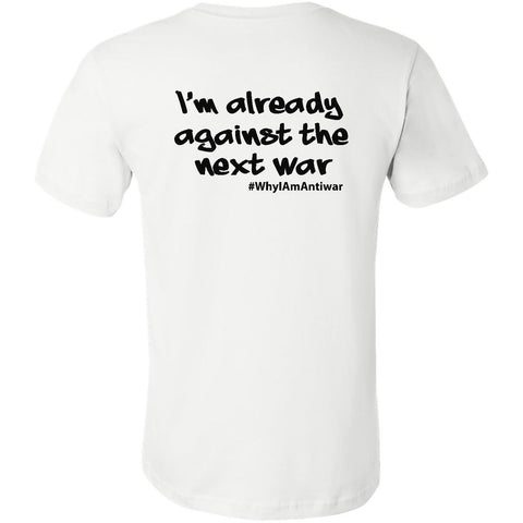 Already Against The Next War, Men's Short Sleeve Crew TShirt