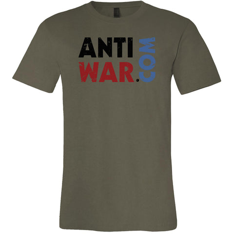 Antiwar.com, World Tour 2018, Men's Short Sleeve Crew TShirt