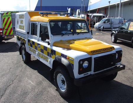 Land Rover Defender - H M Coastguard