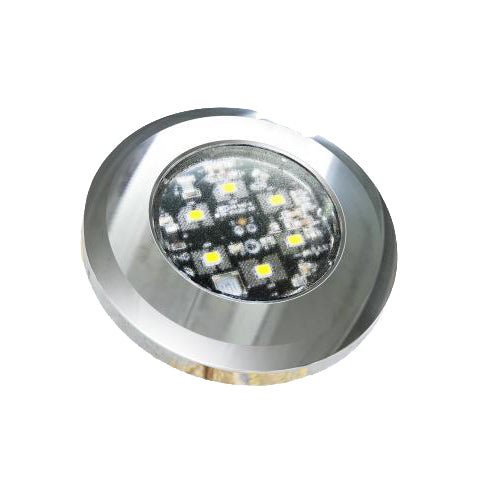 Dual Colour Small Round LED Interior Lamp