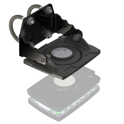 Guardian Angel - Bike/Rail Universal Bracket Mount with Magnetic Mount