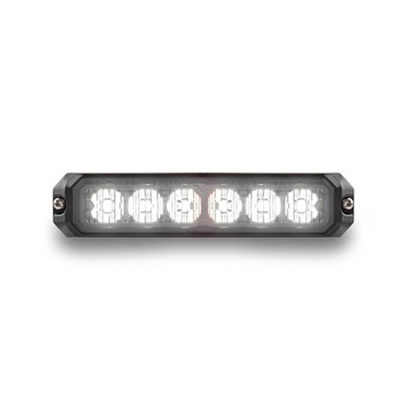 Mini Stealth - 6-way Surface Mount LED Modules (MS6BS) White