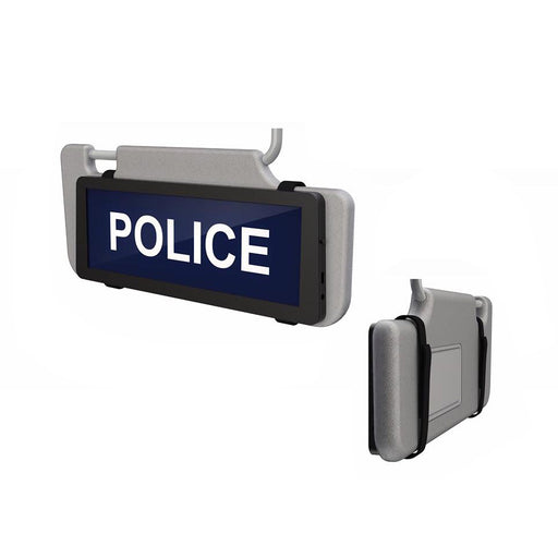 Safe Responder X Univisor LED Visor Sign
