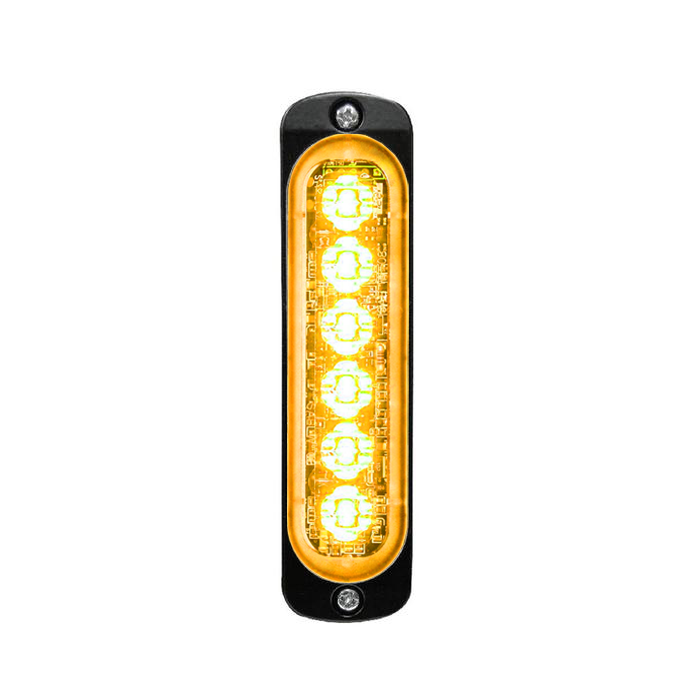 Super Thin 6-way LED Modules (ST6) Vertical Amber