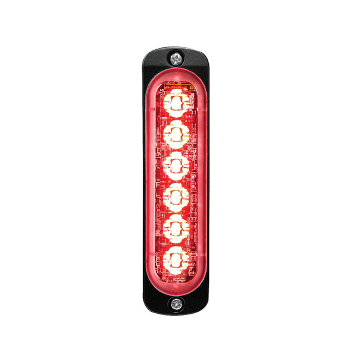 Super Thin 6-way LED Modules (ST6) Vertical Red